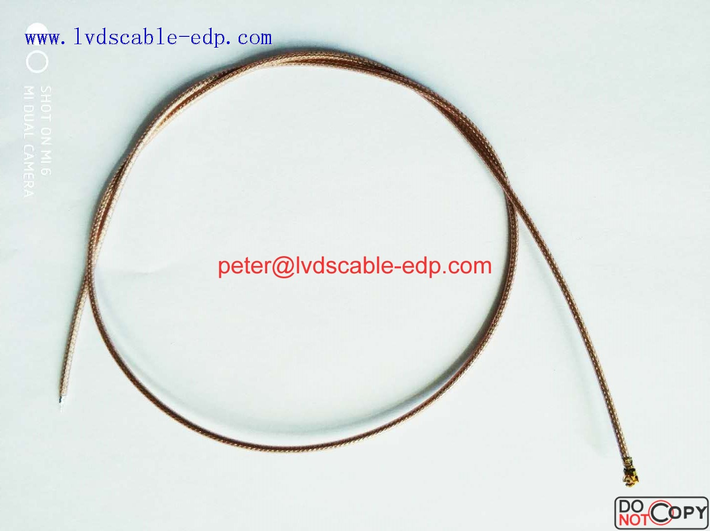 IPEX 20278-101R-18  RG178 RF CABLE