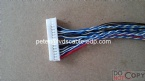 Wire harness assembly, UL1007 28# JST PHD 2X15